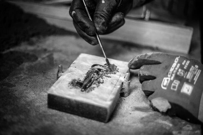 Schlüsselguß: Tresorschlüssel & Co gießen wir gerne für Sie nach einem Musterschlüssel nach
