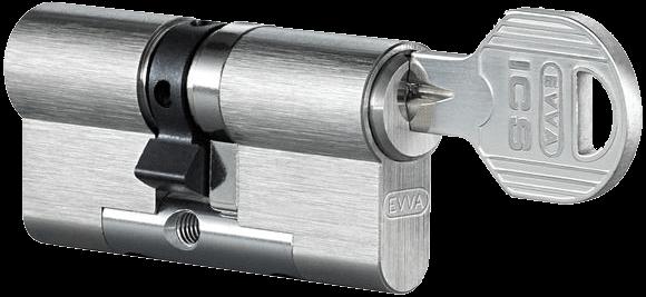 Schließsystem EVVA ICS Doppelzylinder