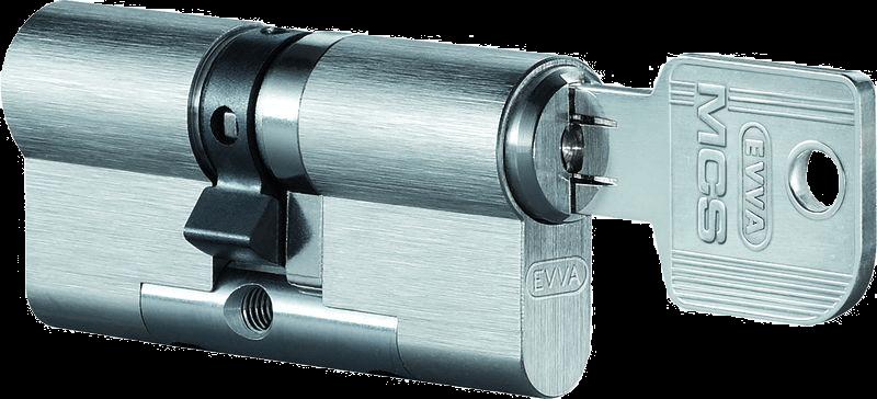 Schließsystem EVVA MCS Doppelzylinder